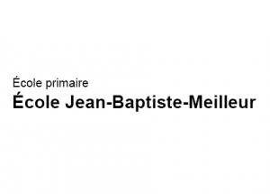 Logo Ecole primaire Ecole Jean Baptiste Meilleur